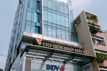Cho thuê Building văn phòng Nguyễn Văn Trỗi Q. Phú Nhuận 5tầng (sàn 1100m2) full nội thất sân riêng
