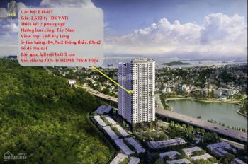 Chính chủ bán căn B1807 Hạ Long Bay View giá tốt. LH 0355565085