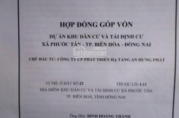 Cần bán đất nền chính chủ KDC Phước Tân, Biên Hòa, Đồng Nai (đối điện chợ)