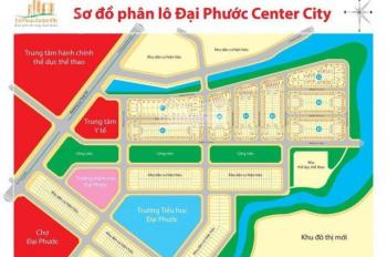 Bán nhanh lô đất DA Đại Phước 1, LK chợ Đại Phước DT 97.5m2, giá rẻ nhất 1.2 tỷ, LH 0988752477
