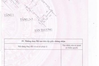 Bán nhà 1 trệt 3 lầu đường Số 2, An Lac, Bình Tân, giá 8,5 tỷ