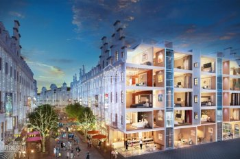Shophouse Châu Âu mặt Hạ Long, chỉ 9,9 tỷ/căn, 20 phòng khách sạn, thuê 400tr/thang. LH: 0908386366