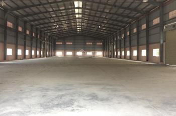 Cho thuê kho xưởng đường QL1A giao Võ Trần Chí, diện tích: 3500m2, giá: 200 tr/th