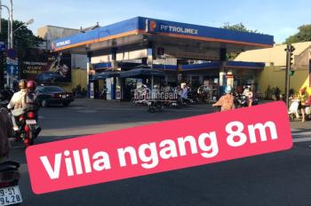 Villa Mini Góc 3 Mặt Tiền Cô Giang ngang 8m GPXD 1T3L