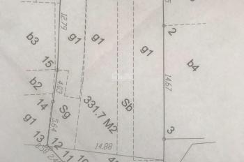 Chính chủ cần bán lô đất mặt đường Mễ Trì Thượng 313,8m2 giá tốt nhất thị trường