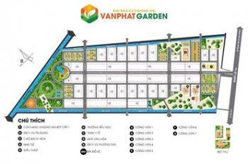 Dự án Vạn Phát Garden đất nền thổ cư 100%. LH: 0365555767