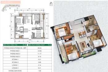 Bán căn hộ chung cư xây mới Xuân Mai Spark Tower 80m2 3 PN  tầng 5 giá 1.4 tỷ LH 0975295418