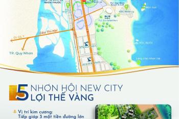Siêu hot dự án Nhơn Hội New City, ngay cạnh FLC, trực diện biển, chỉ 1.5 tỷ/80m2. LH 0903.855.987