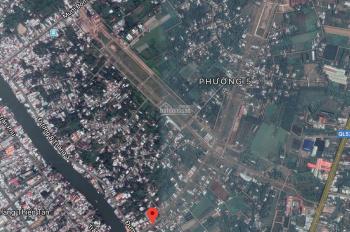 Bán lô 2 mặt tiền gần chợ Vĩnh Long, sổ đỏ, xây dựng ngay. 1,6 tỷ. 091.2345.920