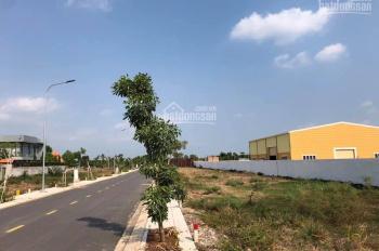 Cần bán lô đất ngay KDC T30 MT Phạm Hùng, Bình Chánh, DT 100m2, giá 899tr, thổ cư 100%, XDTD, SHR