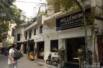 Cho thuê cửa hàng mặt phố vị trí cực đẹp phố Tràng Thi.  Diện tích 80m2, mặt tiền 10m.