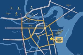 CHÍNH CHỦ TÔI CẦN BÁN GẤP CĂN HỘ Q7 SAIGON RIVERSIDE 67M2, GIÁ 2 TỶ  2PN 2WC - LH: 0938388681