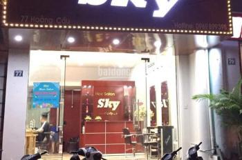 Cho thuê của hàng  mp Nguyễn Hữu Huân 25m2, mt4m, giá 27tr/th.Lh: 0948990168 Mr.Duy