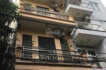 Cho thuê nhà phố Hoàng Quốc Việt, Cầu Giấy, Hà Nội. Dt 55m2 4T Mt 5m. Giá 15tr/tháng