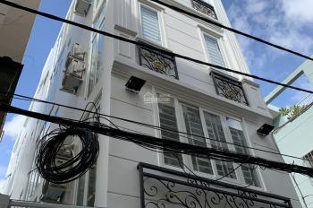 Bán căn hộ dịch vụ Nguyễn Trãi, quận 5. DT 5,3x20m, 5 tầng 18 phòng thang máy, TN 70 triệu/tháng