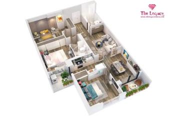 Bán căn hộ The Legacy giá từ 32 tr/m2 Trung Hòa Nhân Chính chiết khấu 130 triệu. LH: 0901.328.333