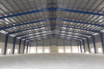 Cho thuê nhà xưởng diện tích 1200m2, giá 60tr/tháng, xe container ra vào