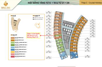 5 suất ngoại giao độc quyền căn studio dự án Sunbay Park Rang, LH: 0948037887