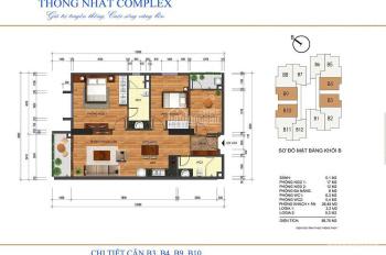 Chính chủ cần bán căn 09 tầng 16 tòa A chung cư Thống Nhất Complex