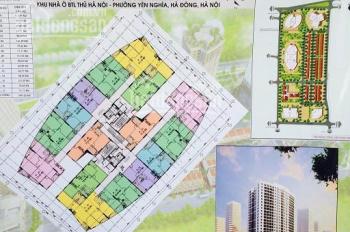 Cần bán gấp căn hộ DT 63m2 (2PN, 2WC) tại CC CT2 Yên Nghĩa, giá 12 tr/m2 - 0973.768.387
