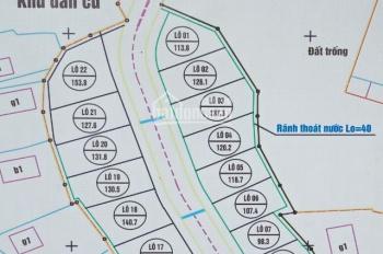 Bán đất nền khu dân cư Trung Sơn Trầm, 1 tỷ, 120m2, sổ đỏ