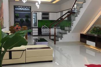 Cần bán nhà trong làng biệt thự Làng Hoa - Cây Trâm, Phường 9, Gò Vấp, 5x25m CN 105m2, giá 9.9 tỷ