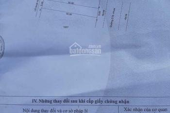 Cần bán gấp lô đất ngay khu hành chính thị trấn Bàu Bàng, Bình Dương, DT 150m2