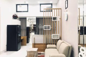 Bán nhà HXH Nguyễn Văn Đậu 5x14, 1 trệt 3 lầu sân thượng, giá 8ty1 góc 2 mặt tiền HXH,0903347047