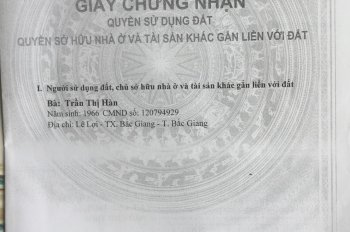 Cần tiền bán gấp đất khu Chợ Kim, xã Xuân Nộn, Đông Anh, mảnh đất vuông vắn DT 101m2. LH 0915140222