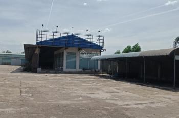 Cho thuê kho xưởng và văn phòng 1600m2 gần ngã 4 Túy Loan Đà Nẵng
