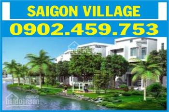 Bán đất sài gòn Village , DT 5x16M, dãy A5, 1.350 đối diện công viên,LH  0902459753 MS: Chinh
