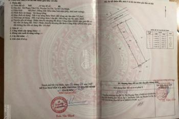 Cần bán lô đất 9x46m, xã Phạm Văn Cội, huyện Củ Chi, giá 2.550 tỷ, 0909361089