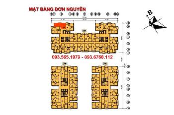 Bán nhanh! Căn hộ tầng 16 CT6C Xala Hà Đông. Dt:62m2, 2 ngủ.Giá chỉ 720 triệu. Lh: 0967766892.