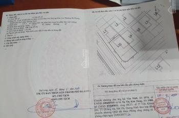 Cần bán ô số 10 quy hoạch khu tái định cư mỏ than Núi Béo tại Khe Cá, phường Hà Phong, TP Hạ Long