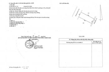 Bán đất 280m2 tặng nhà kho Lương Nhữ Hộc, Phước: 0906422566