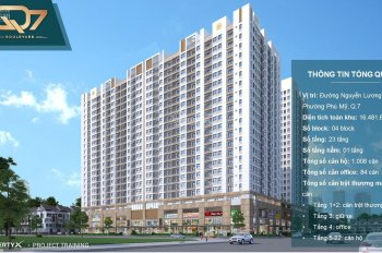 Hưng Thịnh mở bán căn hộ Q7 Boulevard -Nguyễn Lương Bằng quận 7 chỉ từ 2tỷ/căn CK 3%-18% 0903414059