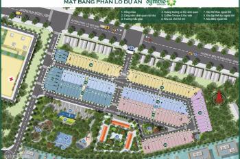 Bán gấp 2 nền liền kề LK4 - 1,2 dự án Symbio Garden, giá cực mềm cho khách đầu tư chỉ 77tr/m2