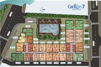 Còn 2 căn Carillon 7, 2PN 1WC, hướng Đông tầng đẹp giá tốt. Inbox 0909849515