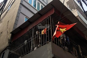 Bán nhà mặt ngõ đường Kim Giang,56m, 6 tầng,10 phòng ngủ, vừa kinh doanh vừa cho thuê tốt