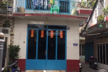 Bán nhà 2 mặt hẻm Trần Văn Đang, q. 3 có sân để xe rộng rãi DT 30m2 và tốt trong tầm giá 4.2 tỷ