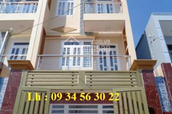 Bán nhà 1 sẹc hướng Đông, 5m x 14m, đúc 3 tầng, đường Số 2, 1 sẹc hẻm thông, LH: 09 34 56 30 22