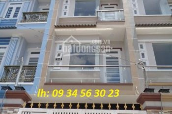 Bán nhà bên hông trường Kim Đồng, 4m x17m, đúc 3 lầu, đường rộng 6m, LH: 09 34 56 30 22