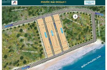 Bán đất nền ven biển Bà Rịa - VT, gần thị trấn Phước Hải chỉ 450tr, thổ cư 100% LH: 0902 910 901