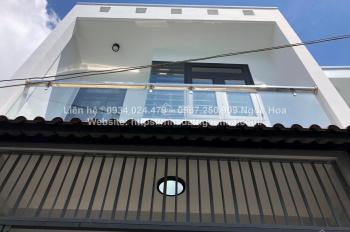 Bán nhà đường Phạm Văn Chiêu P. 14 DT: 4x12m, nhà mới thiết kế đẹp 2PN, 2WC, hẻm 3m, giá 3.45 tỷ