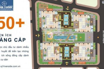 Bán căn hộ Q7 Sài Gòn Riverside rẻ nhất khu vực, liền kề Phú Mỹ Hưng. LH 0902537816
