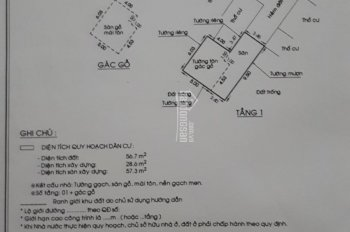 Cần bán gấp nhà ở An Phú Đông, Q12