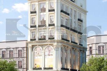 Tôi Cần bán nhà mặt phố Mai Hắc Đế, DT 180m2 x  9 tầng nổi, 2 hầm. Mặt tiền rộng 12m, Nhà mới đẹp,