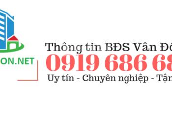 Bán 1 suất ngoại giao liền kề mặt sông hướng biển dự án khu đô thị Ao Tiên Vân Đồn LH 0919 686 686
