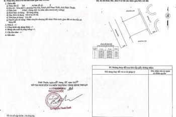 Cần bán lô đất MT đường Nguyễn Đình Chiểu P. Phú Hài TP. Phan Thiết 350m2 full thổ cư, Sổ đỏ