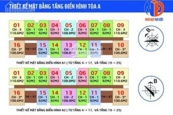 Chính chủ cần tiền bán cắt lỗ IA20 Ciputra T1608 - A1, DT: 92m2, giá 20,3 tr/m2. LH 0981 917 883